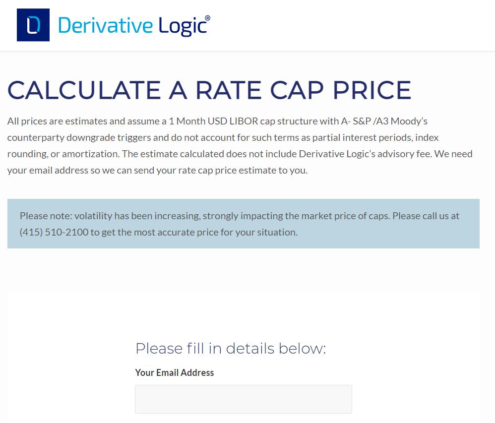 Rate Cap Pricer